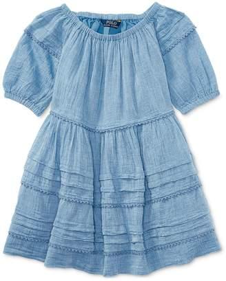 Polo Ralph Lauren Lightweight Cotton Dress, Toddler & Little Girls (4/)
