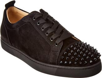 Christian Louboutin Louis Junior Suede Sneaker