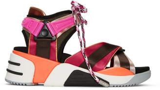 Marc Jacobs Pink Somewhere Sport Sandals