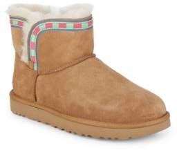 UGG Rosemaria Embroidered Stripe Boots