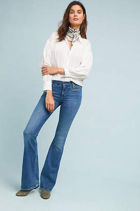MiH Jeans Marrakesh Mid-Rise Flare Jeans