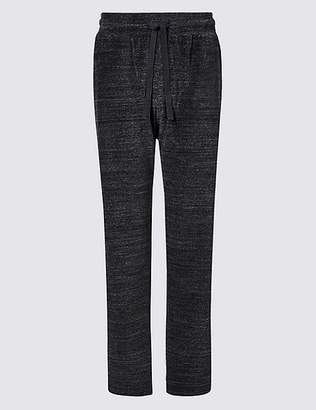 Marks and Spencer Cotton Rich Textured Joggers