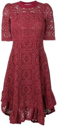 See by Chloe lace midi dress