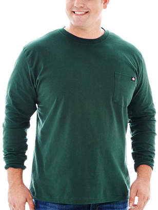 Dickies Heavyweight Long-Sleeve Pocket Tee-Big & Tall
