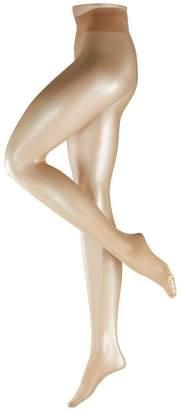 Falke Womens Shelina Toeless Shimmer 12 Denier Tights - Golden - Medium/Large