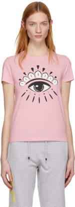 Kenzo Pink Eye Logo T-Shirt
