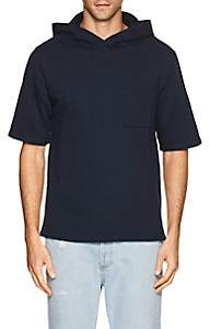N. Max 'n Chester MAX 'N CHESTER MEN'S COTTON TERRY HOODED T-SHIRT-NAVY SIZE L