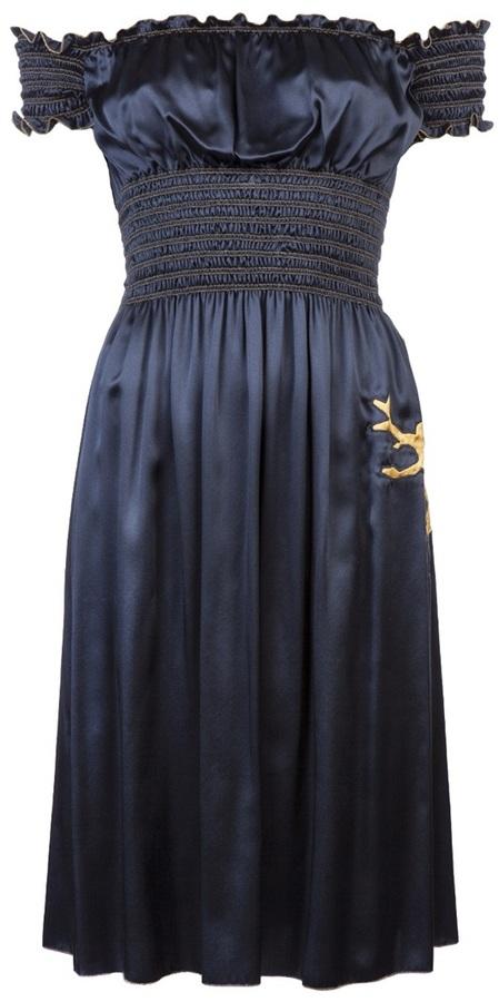 Sophie Theallet Vault Charmeuse sun dress
