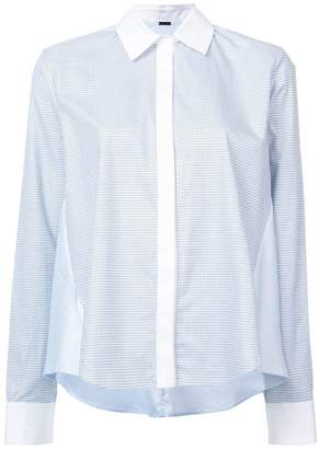 ADAM by Adam Lippes jacquard long-sleeve shirt