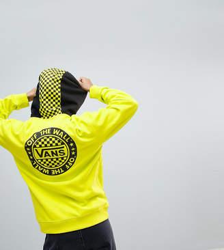 Vans Exclusive To Asos Oversized Hoodie In Yellow