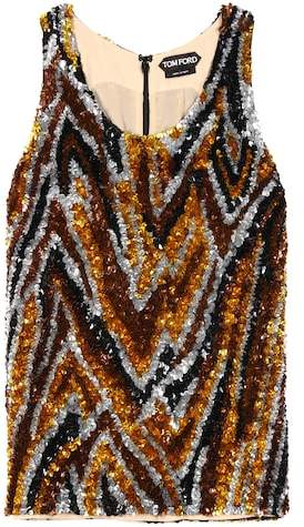 Tom Ford Sequin-embellished top