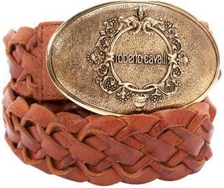 Roberto Cavalli Brown Leather Belts