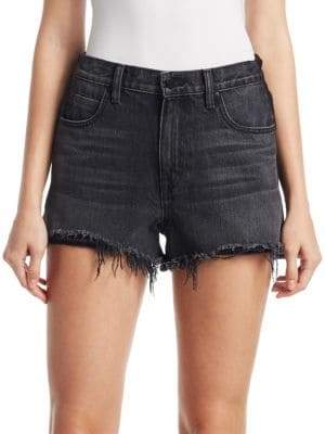 Alexander Wang Denim Terry Shorts