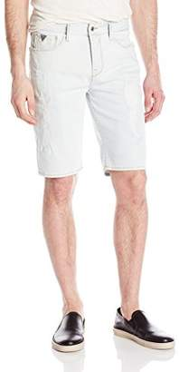 GUESS Men's Slim Turbulent Wash Denim Short