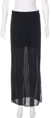 Tibi Vented Maxi Skirt