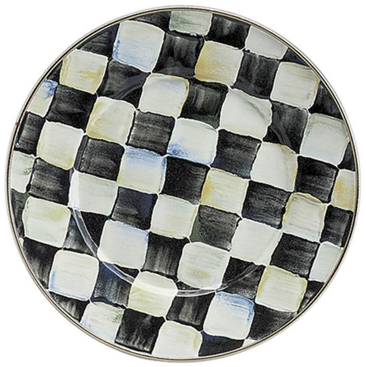 MacKenzie-Childs Courtly Check Salad Plate