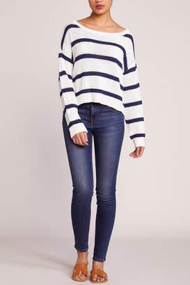 BB Dakota Sail Away Crop Sweater