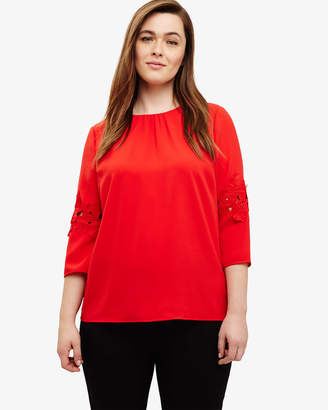 Phase Eight Delphine Lace Top