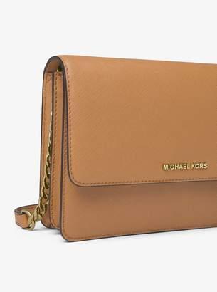 MICHAEL Michael Kors Daniela Large Leather Crossbody