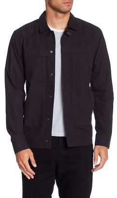 Tavik Belton Front Button Shirt Jacket