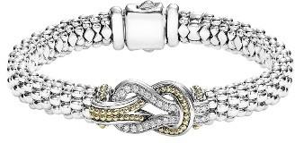 Women's Lagos Caviar Newport Diamond Station Bracelet $1,350 thestylecure.com