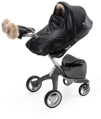 Stokke Fur-Trim Winter Kit, Black
