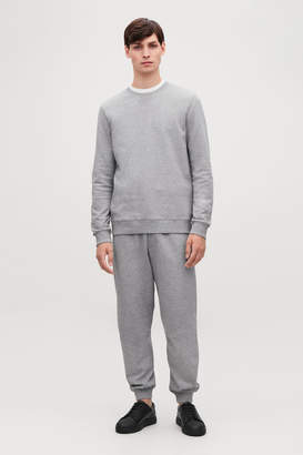Cos BRUSHED COTTON SWEATSHIRT