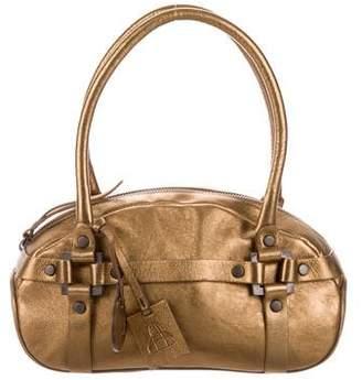 Bruno Magli Metallic Handle Bag