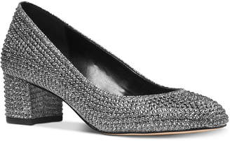 Michael Kors Arabella Kitten-Heel Pumps