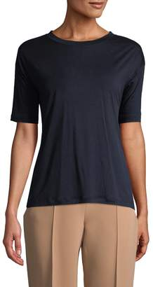Diane von Furstenberg Women's Back-Ruffle T-Shirt