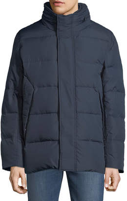 Andrew Marc Men's Carlton 5050 Hidden Hood Coat