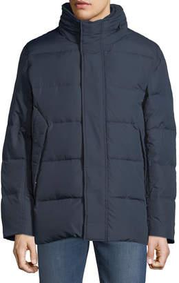 Andrew Marc Men's Carlton 5050 Hidden Hood Coat
