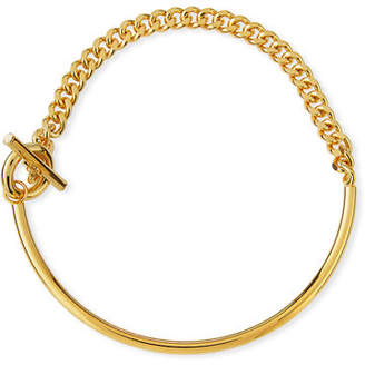 Fallon Curb Chain Toggle Collar