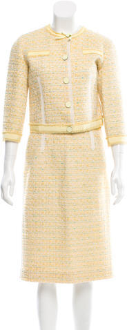 Marc Jacobs Marc Jacobs Tweed Skirt Suit