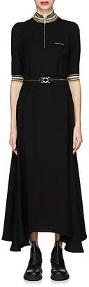 Prada Women's Jersey Belted Asymmetric Dress