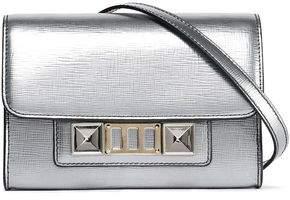 Proenza Schouler Ps11 Metallic Textured-leather Shoulder Bag