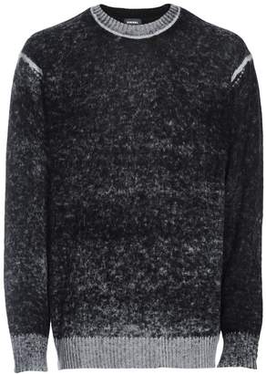 Diesel K-Conf Wool-Blend Crew Sweater