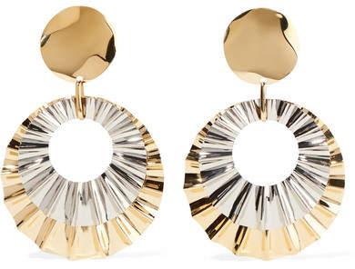 Isabel Marant - Gold And Silver-tone Earrings