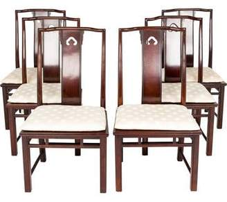 Set of 6 Chinoiserie Dining Chairs
