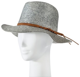 Merona Women's Felight Fedora Hat Gray - Merona $19.99 thestylecure.com