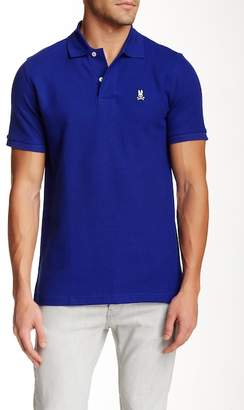 Psycho Bunny Pique Knit Regular Fit Polo