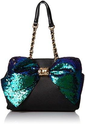 Betsey Johnson Bow-Lesque Satchel $127.34 thestylecure.com