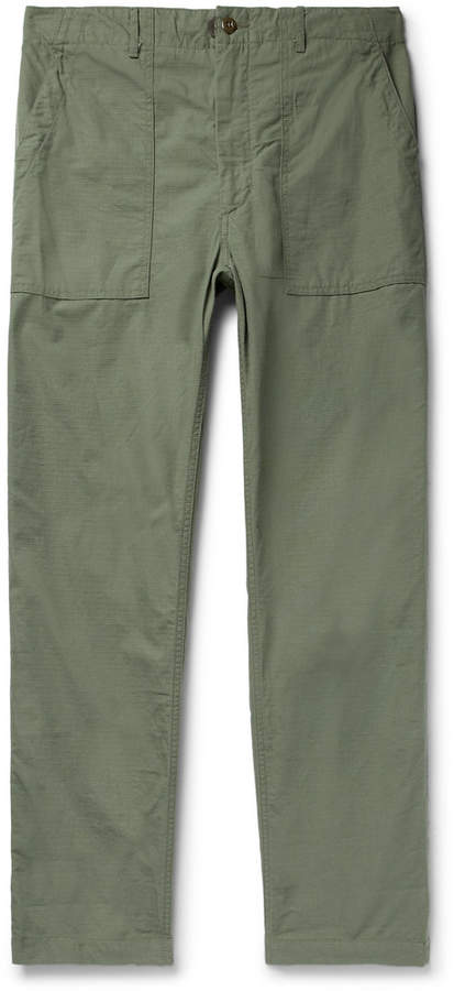 Cotton-Ripstop Trousers