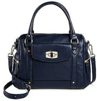 Merona; Women's Satchel Faux Leather Handbag with Removable Crossbody Strap - Merona&... $39.99 thestylecure.com