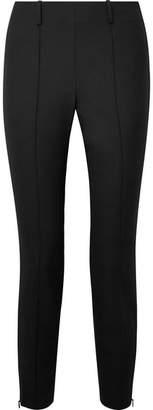 Elizabeth and James Judah Stretch-twill Slim-leg Pants - Black