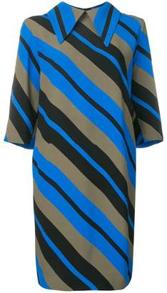 Marni striped shift dress