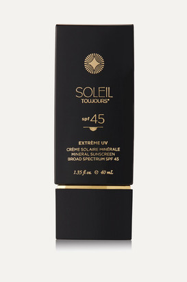 Soleil Toujours Spf45 Extrème Uv Mineral Sunscreen For Face, 40ml - Colorless