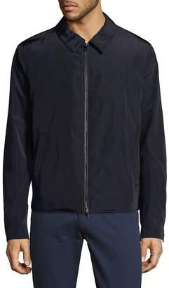 Pal Zileri Men's Full-Zip Collared Jacket