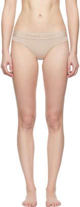 Calvin Klein Underwear Pink Tonal Logo Thong