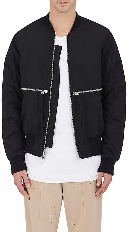 Stampd Men's Embroidered Cotton Bomber Jacket
